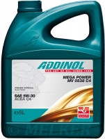 ADDINOL MEGA POWER MV 0538 C4 - SAE 5W-30