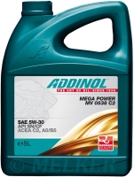 ADDINOL MEGA POWER MV 0538 C2 - SAE 5W-30