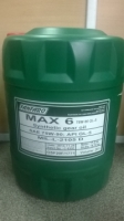 Fanfaro MAX 6+ GL5  SAE:75W-140 (20л) Масло трансмис-ое