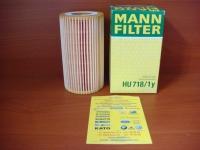 Фильтр масляный Mann HU718/1Y