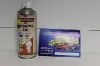 Смазка-консервант от ржавчины и коррозии в 2-х и 4-х тактных моторах RAVENOL Fogging Oil (0,4л)