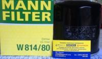 Фильтр  масляный W814/80/C307/C1701/C805/C1608